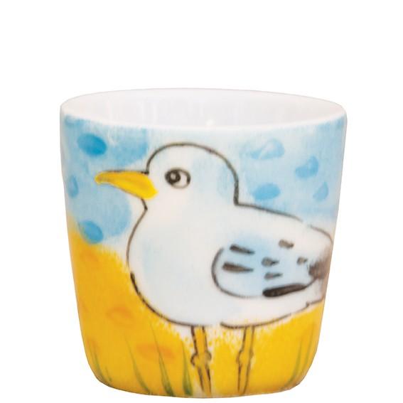 Möwe mit gelbem Schnabel Eierbecher