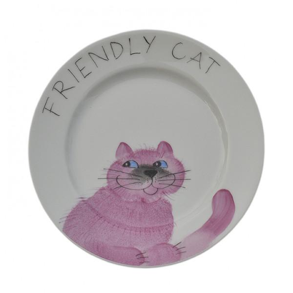 Emma cats rosa friendly Teller 19 cm