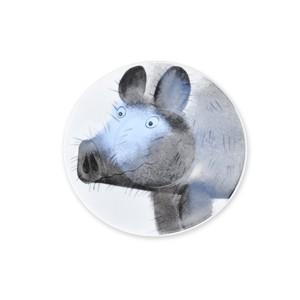 angry piggy Teller 11 cm