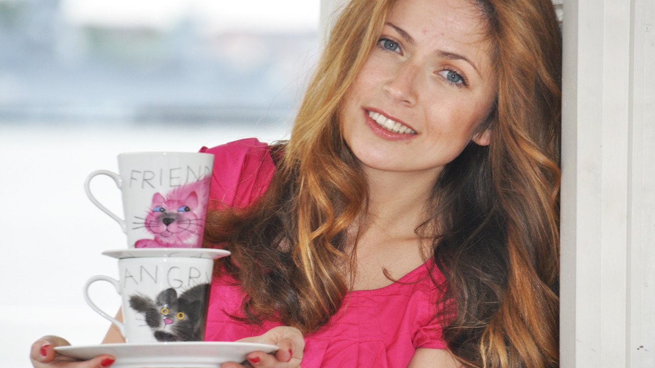 Helina Tilk Deutschland - Online-Shop: Handbemaltes Porzellan, Geschirr, Heimtextilien