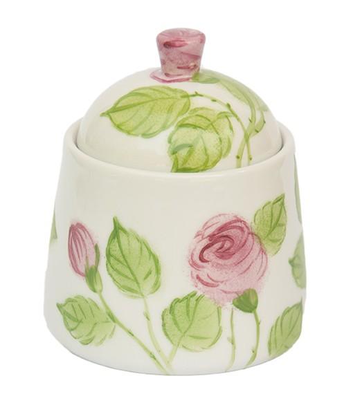 Porzellan Helina Tilk Deutschland: Handbemaltes Porzellan - handbemalte Zuckerdose