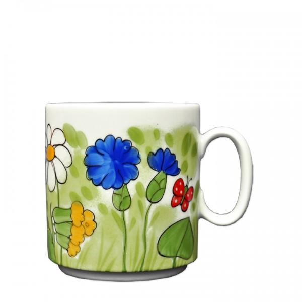 Alle Blumen Becher stapelbar 280 ml