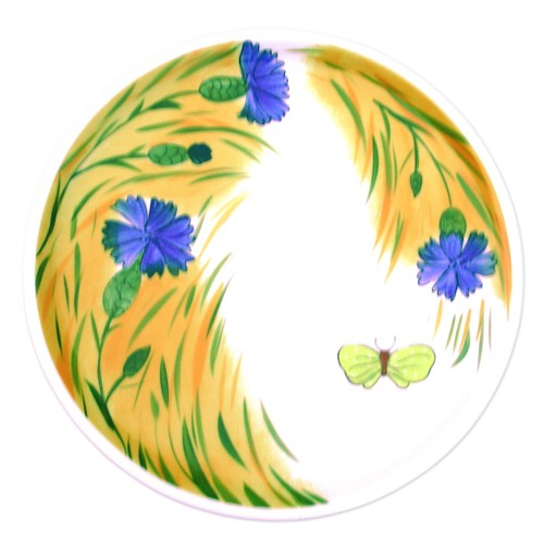 Kornblume Tortenplatte 31 cm