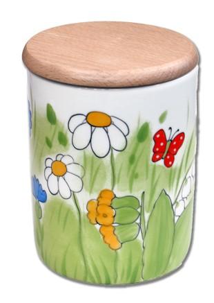 Alle Blumen Vorratsdose mit Deckel 0,75 l