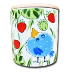 Erdbeeren Vorratsdose mit Deckel 0,75 l