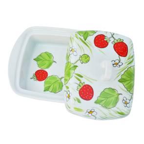 Erdbeere Butterdose