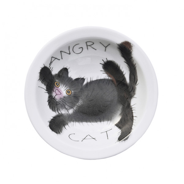 Emma cats angry Schale 16 cm