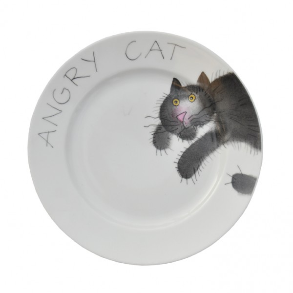 Emma cats angry Teller 19 cm