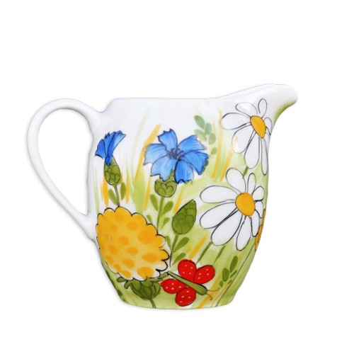 Alle Blumen Krug/Sahnekanne runde Form 0,25 l