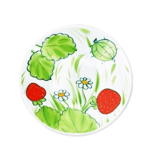 Erdbeeren Teller 11 cm