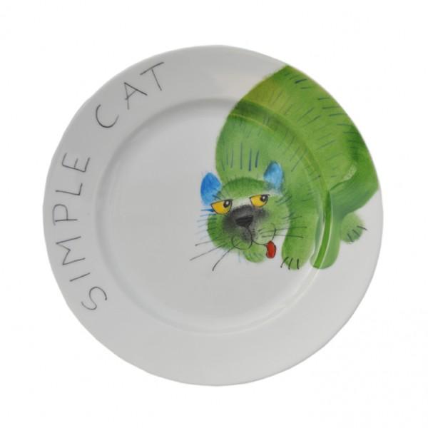 Emma cats simple Teller 19 cm