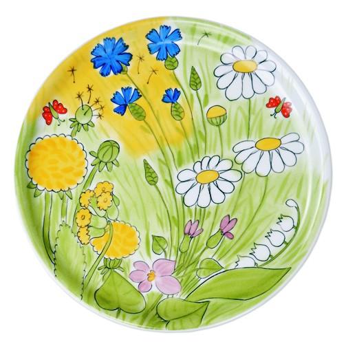 Alle Blumen Tortenplatte 31 cm